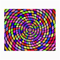 Colorful Whirlpool Small Glasses Cloth (2 Sides) by LalyLauraFLM