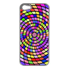 Colorful Whirlpool Apple Iphone 5 Case (silver) by LalyLauraFLM