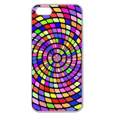 Colorful Whirlpool Apple Seamless Iphone 5 Case (clear) by LalyLauraFLM