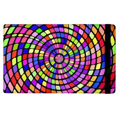 Colorful Whirlpool Apple Ipad 2 Flip Case by LalyLauraFLM