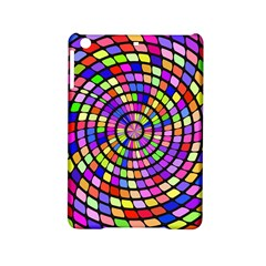 Colorful Whirlpool Apple Ipad Mini 2 Hardshell Case by LalyLauraFLM