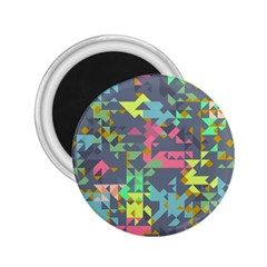 Pastel Scattered Pieces 2 25  Magnet by LalyLauraFLM