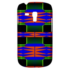Distorted Shapes Pattern Samsung Galaxy S3 Mini I8190 Hardshell Case by LalyLauraFLM