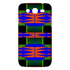 Distorted Shapes Pattern Samsung Galaxy Mega 5 8 I9152 Hardshell Case  by LalyLauraFLM