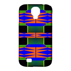 Distorted Shapes Pattern Samsung Galaxy S4 Classic Hardshell Case (pc+silicone) by LalyLauraFLM