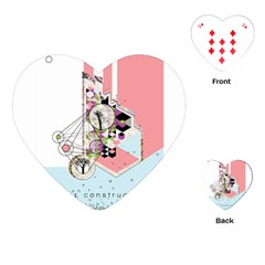 Under Construction Playing Cards (heart)  by infloence