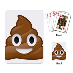 Poop Playing Card by redcow