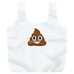 Poop Full Print Recycle Bags (l)  by redcow