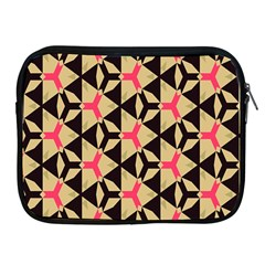 Shapes In Triangles Pattern Apple Ipad 2/3/4 Zipper Case by LalyLauraFLM