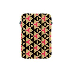 Shapes In Triangles Pattern Apple Ipad Mini Protective Soft Case by LalyLauraFLM