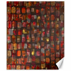 Floating Squares Canvas 8  X 10  by LalyLauraFLM