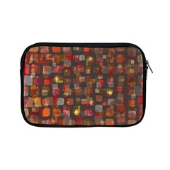 Floating Squares Apple Ipad Mini Zipper Case by LalyLauraFLM