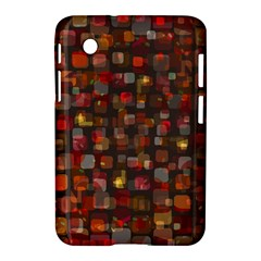 Floating Squares Samsung Galaxy Tab 2 (7 ) P3100 Hardshell Case  by LalyLauraFLM