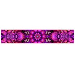 Pink Fractal Kaleidoscope  Flano Scarf (large) by KirstenStarFashion