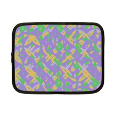 Mixed Shapes Netbook Case (small) by LalyLauraFLM
