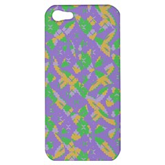 Mixed Shapes Apple Iphone 5 Hardshell Case by LalyLauraFLM