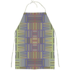 Gradient Rectangles Full Print Apron by LalyLauraFLM