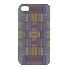 Gradient Rectangles Apple Iphone 4/4s Premium Hardshell Case by LalyLauraFLM