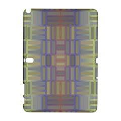 Gradient Rectangles Samsung Galaxy Note 10 1 (p600) Hardshell Case by LalyLauraFLM