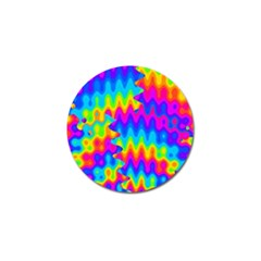 Amazing Acid Rainbow Golf Ball Marker (10 Pack) by KirstenStar