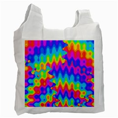 Amazing Acid Rainbow Recycle Bag (one Side) by KirstenStar