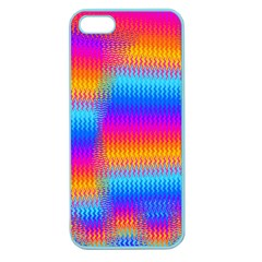 Psychedelic Rainbow Heat Waves Apple Seamless Iphone 5 Case (color) by KirstenStar