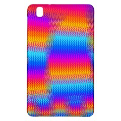 Psychedelic Rainbow Heat Waves Samsung Galaxy Tab Pro 8 4 Hardshell Case by KirstenStar