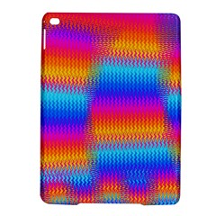 Psychedelic Rainbow Heat Waves Ipad Air 2 Hardshell Cases by KirstenStar