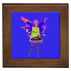 Fairy Punk Framed Tiles by icarusismartdesigns