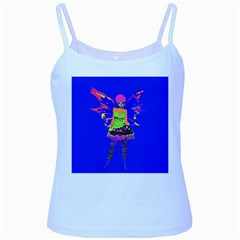 Fairy Punk Baby Blue Spaghetti Tanks by icarusismartdesigns