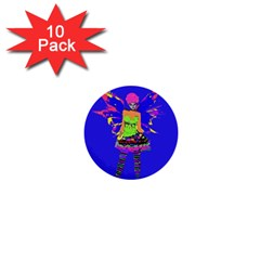 Fairy Punk 1  Mini Buttons (10 Pack)  by icarusismartdesigns