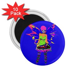 Fairy Punk 2 25  Magnets (10 Pack)  by icarusismartdesigns