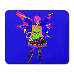 Fairy Punk Large Mousepads by icarusismartdesigns