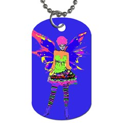 Fairy Punk Dog Tag (one Side) by icarusismartdesigns