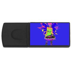 Fairy Punk Usb Flash Drive Rectangular (4 Gb)  by icarusismartdesigns