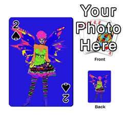 Fairy Punk Playing Cards 54 Designs  by icarusismartdesigns