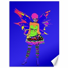 Fairy Punk Canvas 36  X 48   by icarusismartdesigns
