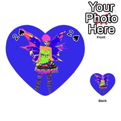 Fairy Punk Playing Cards 54 (heart)  by icarusismartdesigns