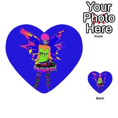 Fairy Punk Multi Purpose Cards (heart)  by icarusismartdesigns