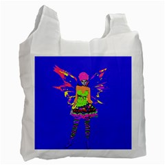 Fairy Punk Recycle Bag (one Side) by icarusismartdesigns