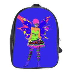 Fairy Punk School Bags(large)  by icarusismartdesigns