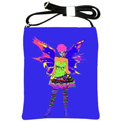 Fairy Punk Shoulder Sling Bags by icarusismartdesigns