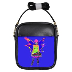 Fairy Punk Girls Sling Bags by icarusismartdesigns