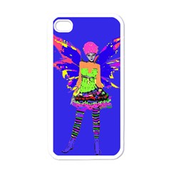 Fairy Punk Apple Iphone 4 Case (white) by icarusismartdesigns