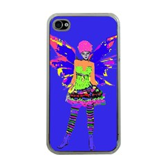Fairy Punk Apple Iphone 4 Case (clear) by icarusismartdesigns