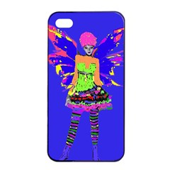 Fairy Punk Apple Iphone 4/4s Seamless Case (black) by icarusismartdesigns