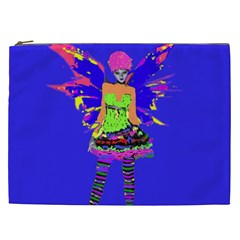 Fairy Punk Cosmetic Bag (xxl)  by icarusismartdesigns