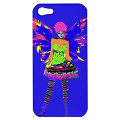 Fairy Punk Apple Iphone 5 Hardshell Case by icarusismartdesigns
