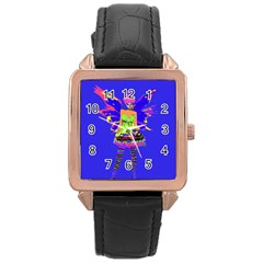 Fairy Punk Rose Gold Watches by icarusismartdesigns