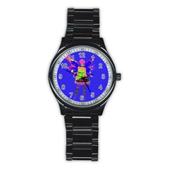 Fairy Punk Stainless Steel Round Watches by icarusismartdesigns